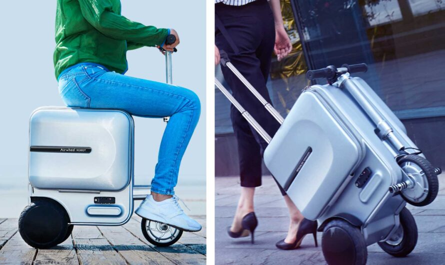The World Keeps Making Suitcases You Can Ride Through the Airport
