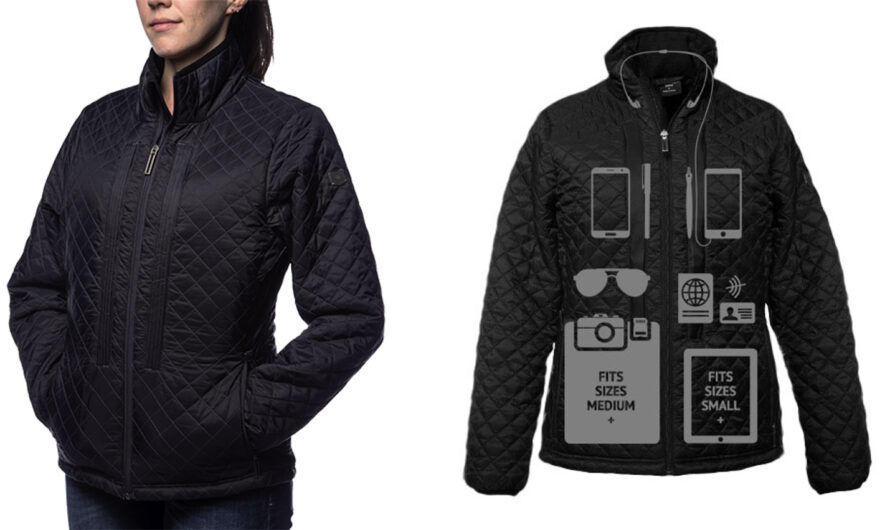 This Smart Jacket Will Hold Two Laptops—and a Whole Lot More