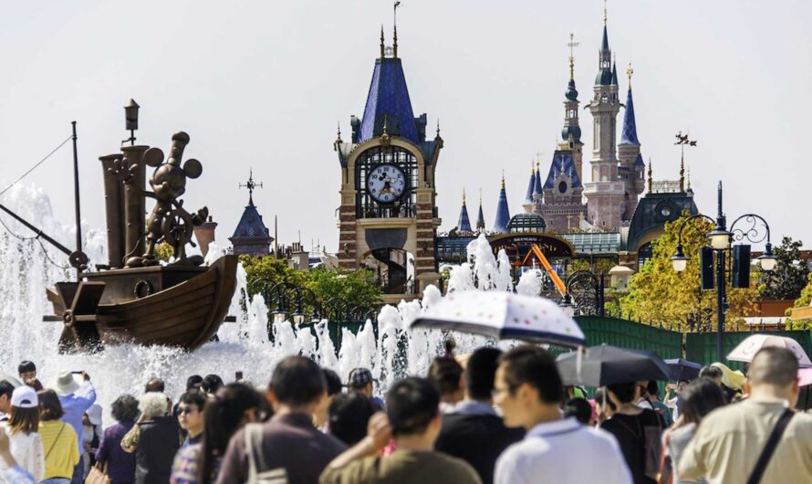 Shanghai Disney Already Sees Major Crowds—Six Weeks Before Opening Day
