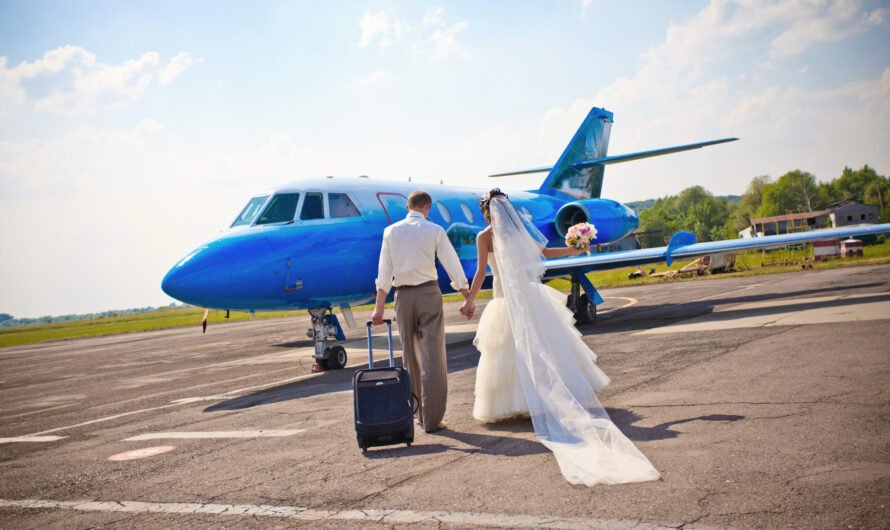 Couple Got Engaged and Then Had the Wedding Ceremony All on the Same Flight