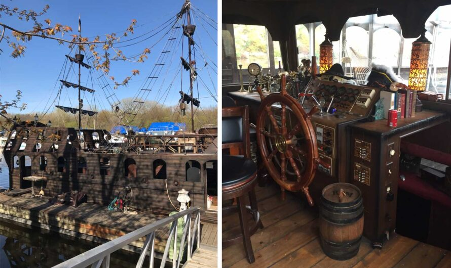 You Can Rent This Pirate Ship on Airbnb